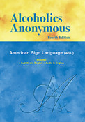 "Alcoholics Anonymous ""Big Book"" pocket abridged ASL on DVD"